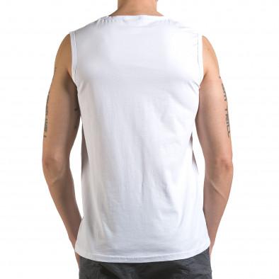 Maieu bărbați Marshall alb it110316-91 3