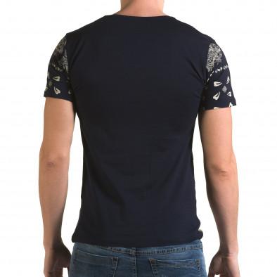 Tricou bărbați Lagos albastru il120216-55 3