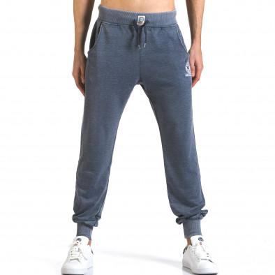 Pantaloni bărbați Marshall albastru it110316-22 2