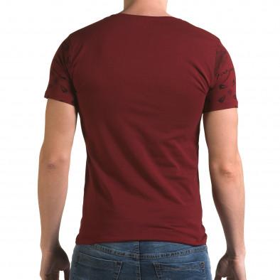 Tricou bărbați Lagos roșu il120216-53 3