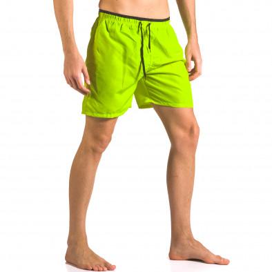 Costume de baie bărbați Yaliishi verde ca050416-25 4