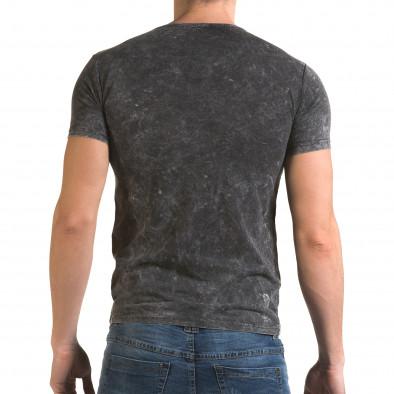 Tricou bărbați Lagos gri il120216-16 3