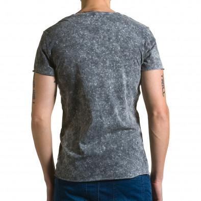 Tricou bărbați Adrexx gri ca190116-48 3