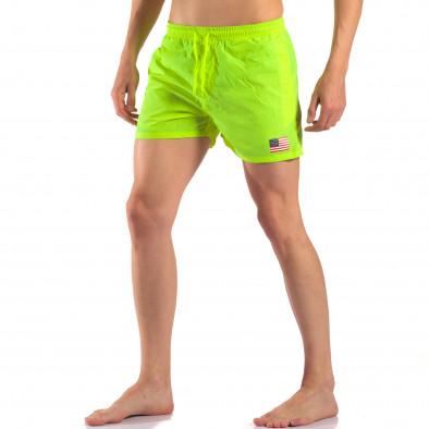 Costume de baie bărbați New Mentality verde it150616-26 4