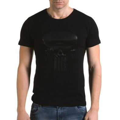 Tricou bărbați Lagos negru il120216-25 2