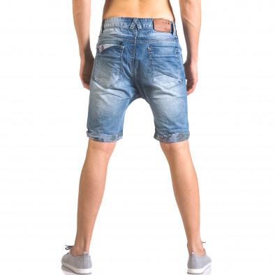 Blugi scurți bărbați Always Jeans albaștri ca050416-69 3