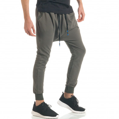 Pantaloni baggy bărbați Black Fox verzi it300317-25 3