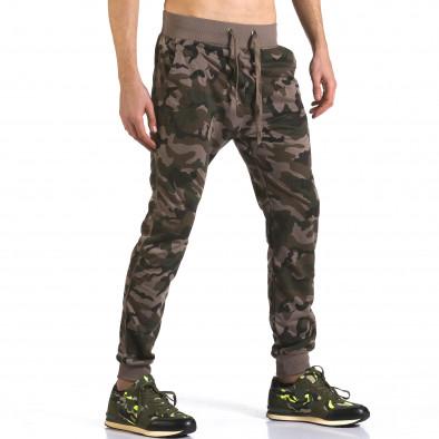 Pantaloni baggy bărbați Dress&GO camuflaj it110316-6 4