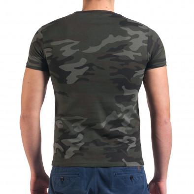 Tricou bărbați Italian Boy camuflaj it010416-1 3
