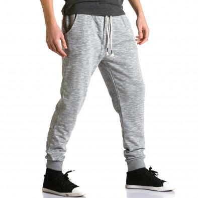 Pantaloni baggy bărbați Enos gri ca190116-31 4