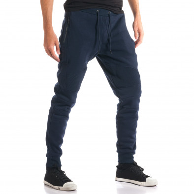 Pantaloni baggy bărbați Top Star albaștri ca280916-12 4