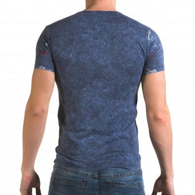 Tricou bărbați Lagos albastru il120216-30 3