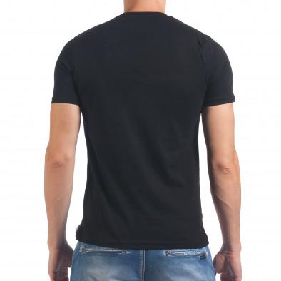 Tricou bărbați Just Relax negru il060616-12 3
