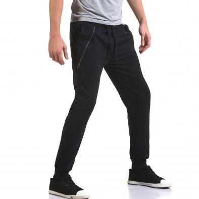 Pantaloni bărbați Eadae Wear albastru it090216-54 4