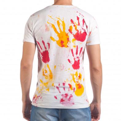 Tricou bărbați Lagos alb il060616-48 3