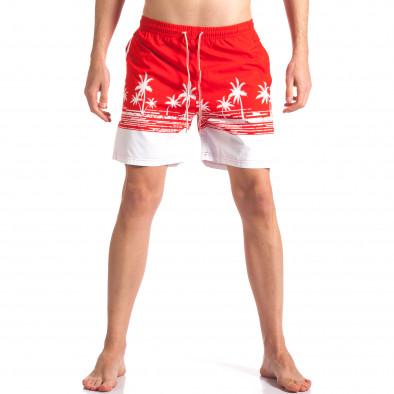 Costume de baie bărbați Austar Jeans roșu it250416-39 2