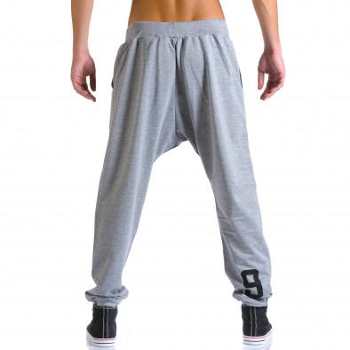 Pantaloni baggy bărbați Eadae Wear gri ca260815-29 3