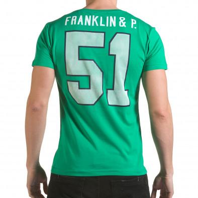 Tricou bărbați Franklin verde il170216-9 3