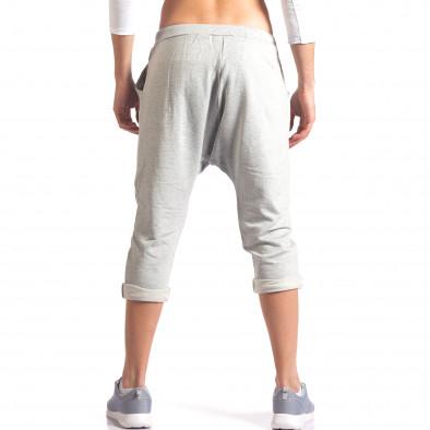 Pantaloni baggy bărbați FCSM gri it260416-38 3