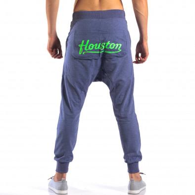 Pantaloni baggy bărbați New Star albaștri it140616-19 3