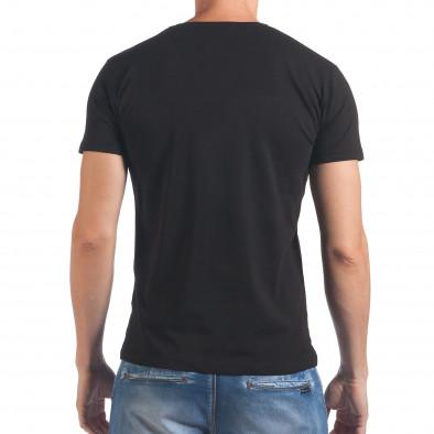 Tricou bărbați Lagos negru il060616-60 3