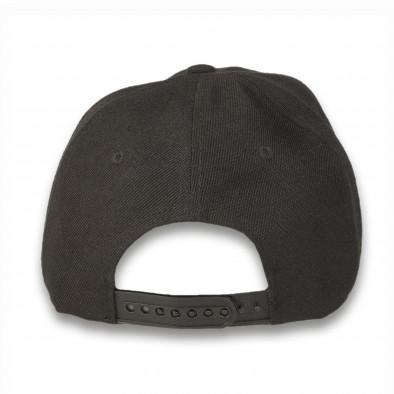 Șapcă bărbați Marshall neagră it220316-5 3