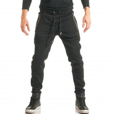 Pantaloni baggy bărbați Furia Rossa negri it181116-17 2