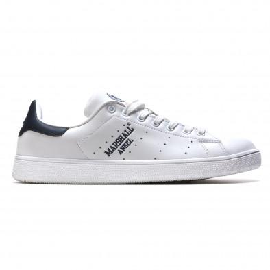 Pantofi sport bărbați Marshall albi it110316-100 2
