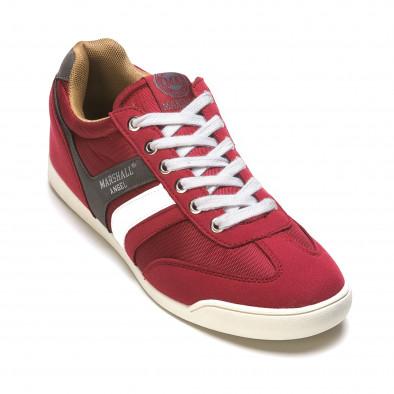 Pantofi sport bărbați Marshall roșii it110316-98 3