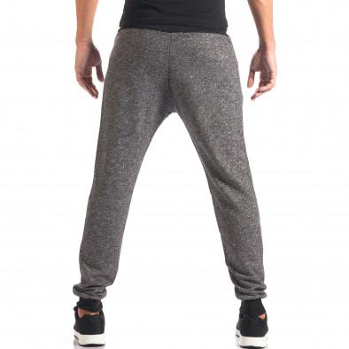 Pantaloni bărbați New Mentality gri it160816-27 3