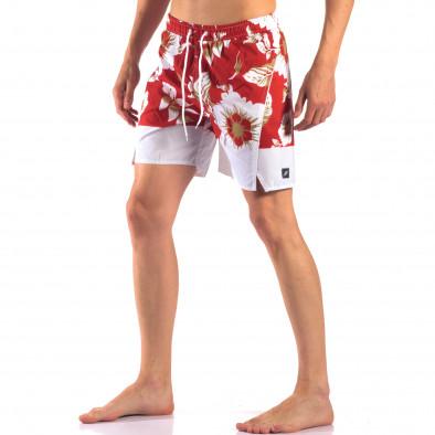Costume de baie bărbați Austar Jeans roșu it150616-21 4