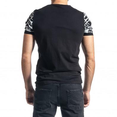 Tricou bărbați Lagos negru tr010221-15 3