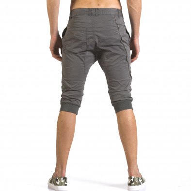 Pantaloni scurți bărbați TMK gri it110316-51 3