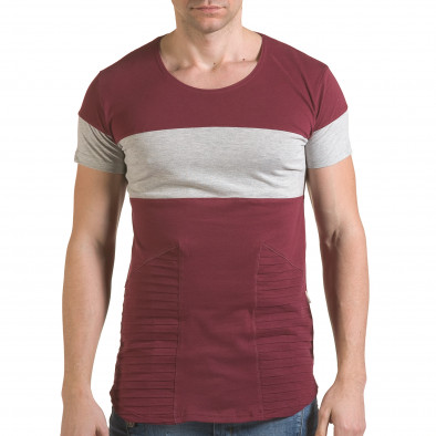 Tricou bărbați Click Bomb roșu il170216-75 2
