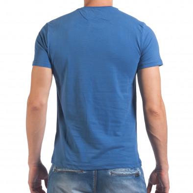 Tricou bărbați Just Relax albastru il060616-19 3
