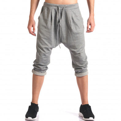 Pantaloni baggy bărbați FCSM gri it260416-37 2