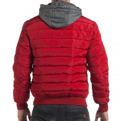 Geacă de iarnă bărbați ET9 roșie it190616-1 3