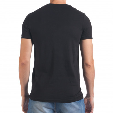 Tricou bărbați Millionaire negru il060616-65 3