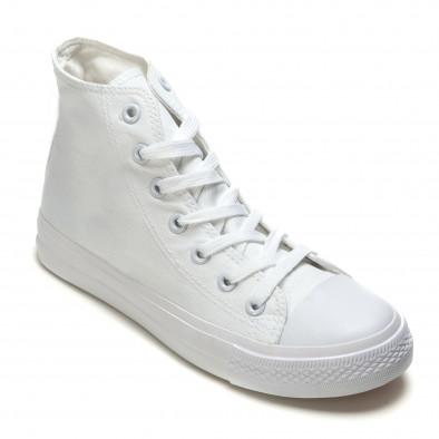 Teniși înalți albi pentru bărbați it260117-35 3