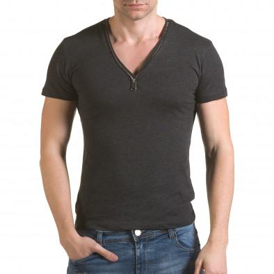Tricou bărbați SAW gri il170216-64 2