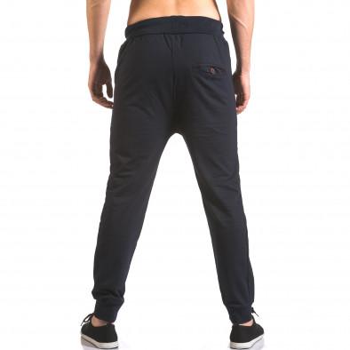 Pantaloni baggy bărbați B-Men albaștri ca050416-53 3