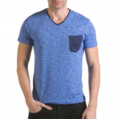 Tricou bărbați Franklin albastru il170216-14 2