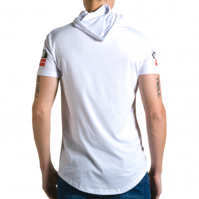 Tricou bărbați Belman alb ca190116-42 3