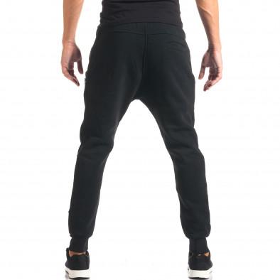 Pantaloni baggy bărbați Top Star negri it160816-1 3