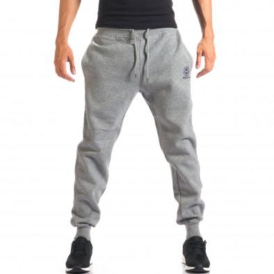 Pantaloni sport bărbați Marshall gri it160816-19 4