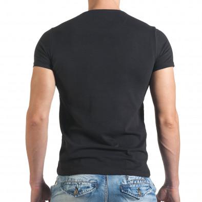 Tricou bărbați Just Relax negru il140416-21 3