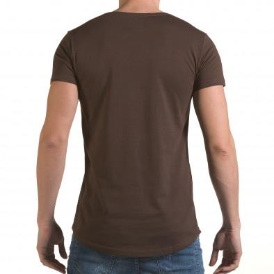 Tricou bărbați Click Bomb maro il170216-87 3