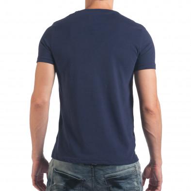 Tricou bărbați Just Relax albastru il060616-3 3