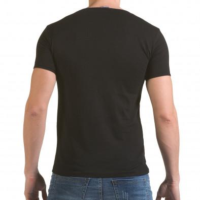Tricou bărbați Click Bomb negru il170216-82 3