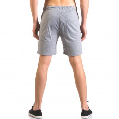 Pantaloni scurți bărbați Furia Rossa gri ca050416-38 3